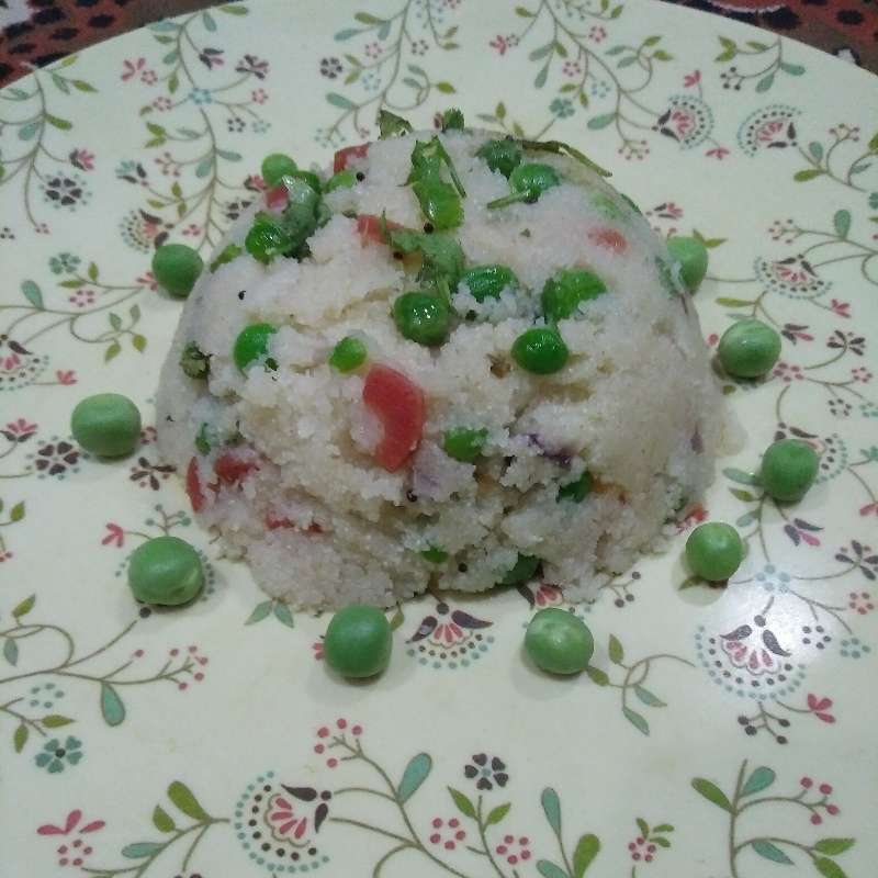 How to make Peas upma