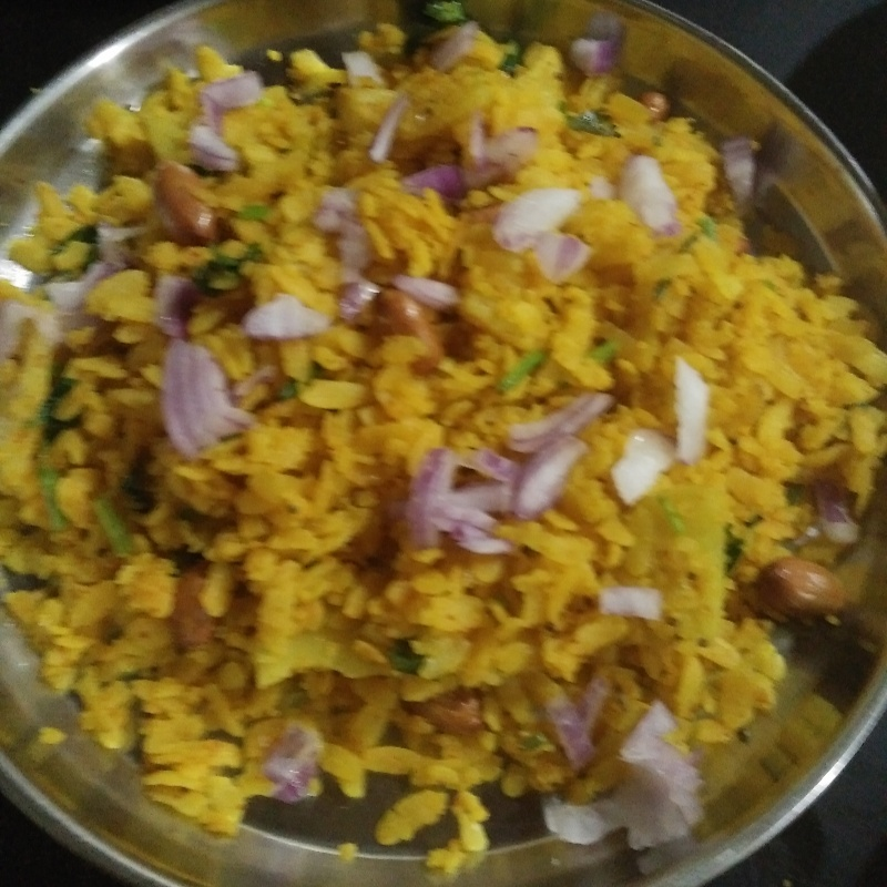 How to make Poha with peanut