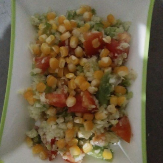 How to make Sweet corn salad