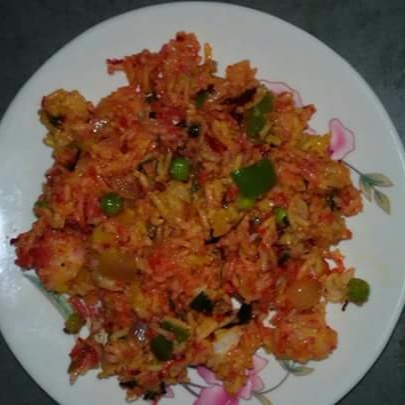 Photo of Paavbhaaji flavour rice by Aachal Jadeja at BetterButter
