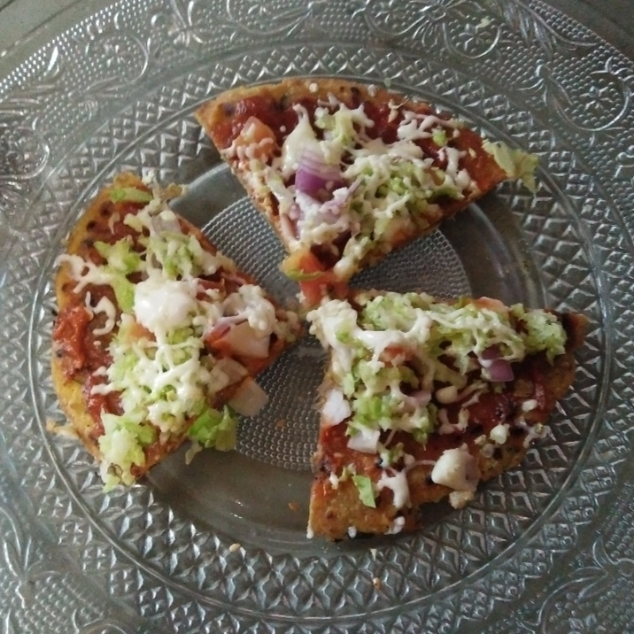 Photo of Thepla pizza by Aachal Jadeja at BetterButter