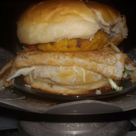 How to make South indian style dr.oeteker  mayyonise burger