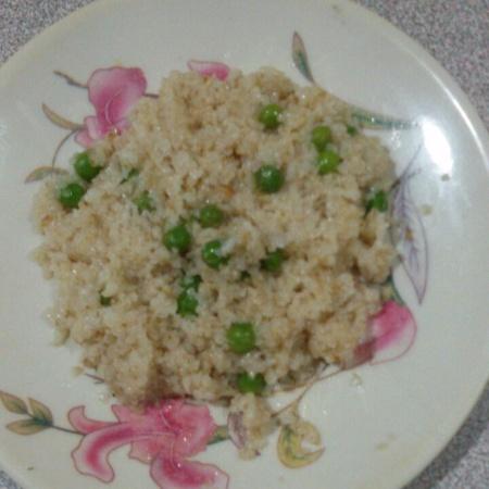 How to make Peas daliya