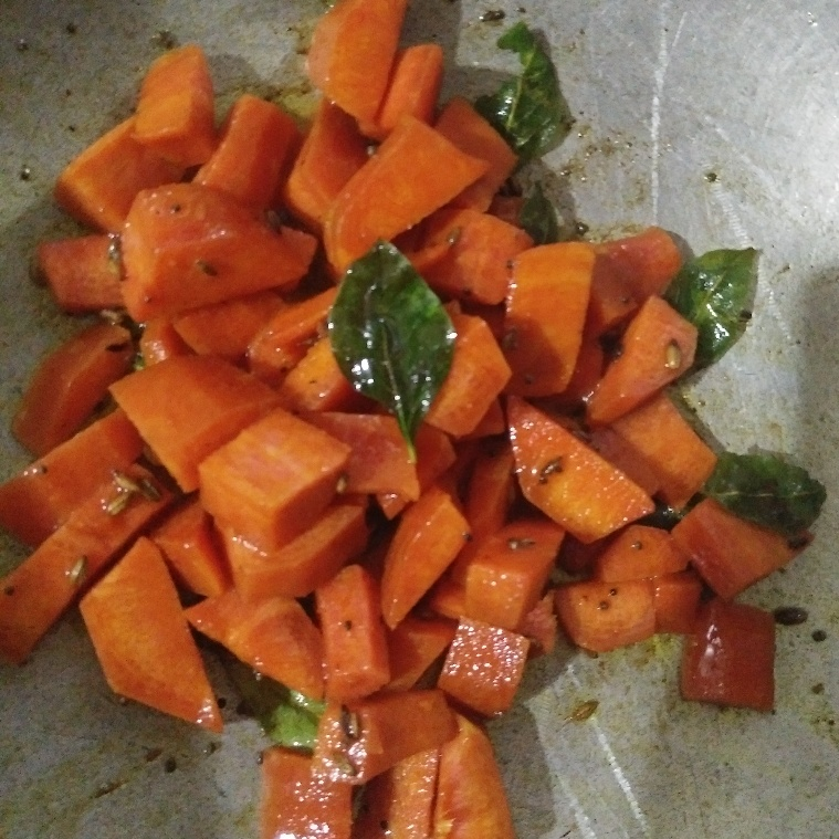 How to make Fry carrot