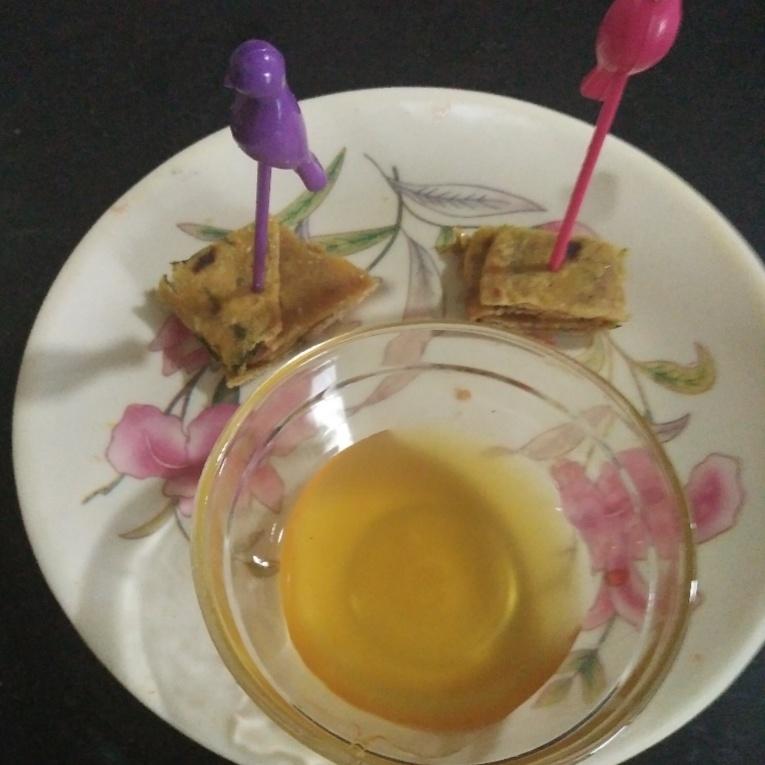 How to make Honey thepla