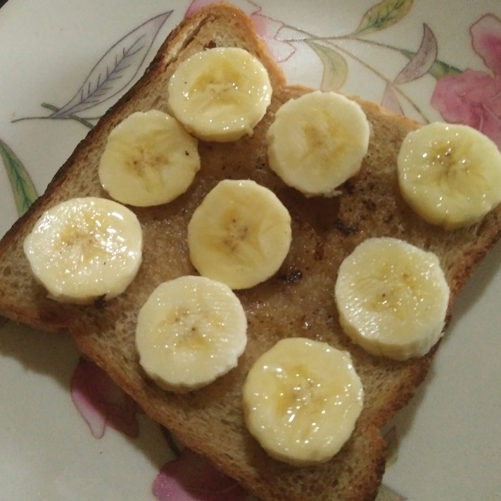 How to make Honey banana with brown bread