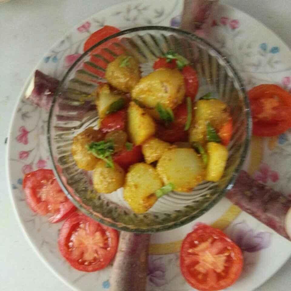 How to make Sweet potato with tomato
