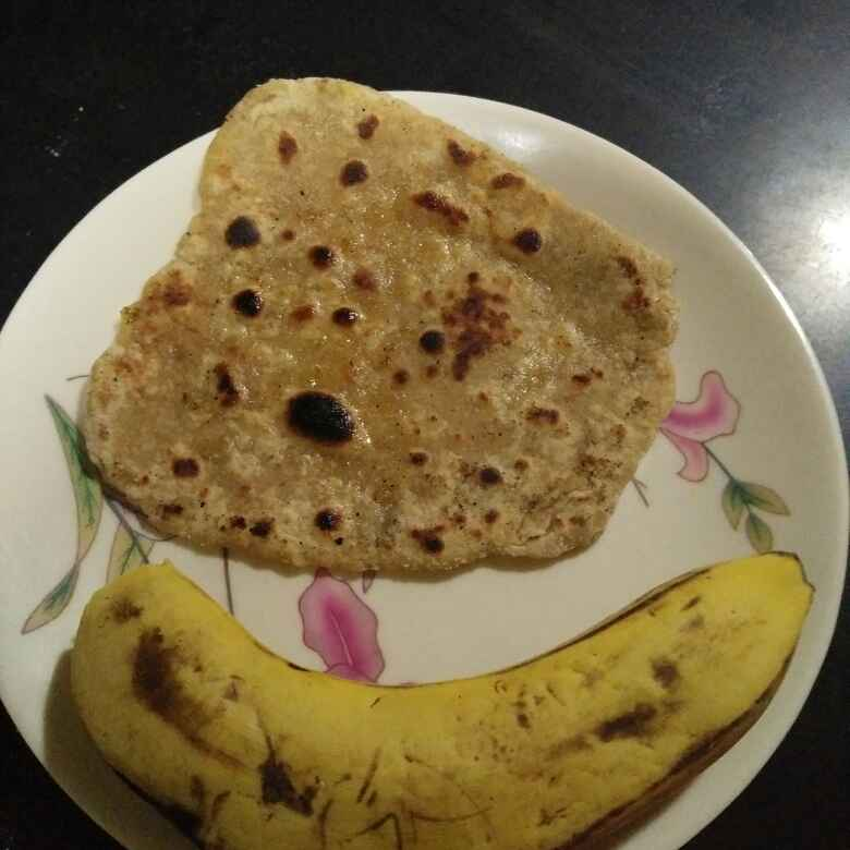 Photo of Ripe banana paratha by Aachal Jadeja at BetterButter