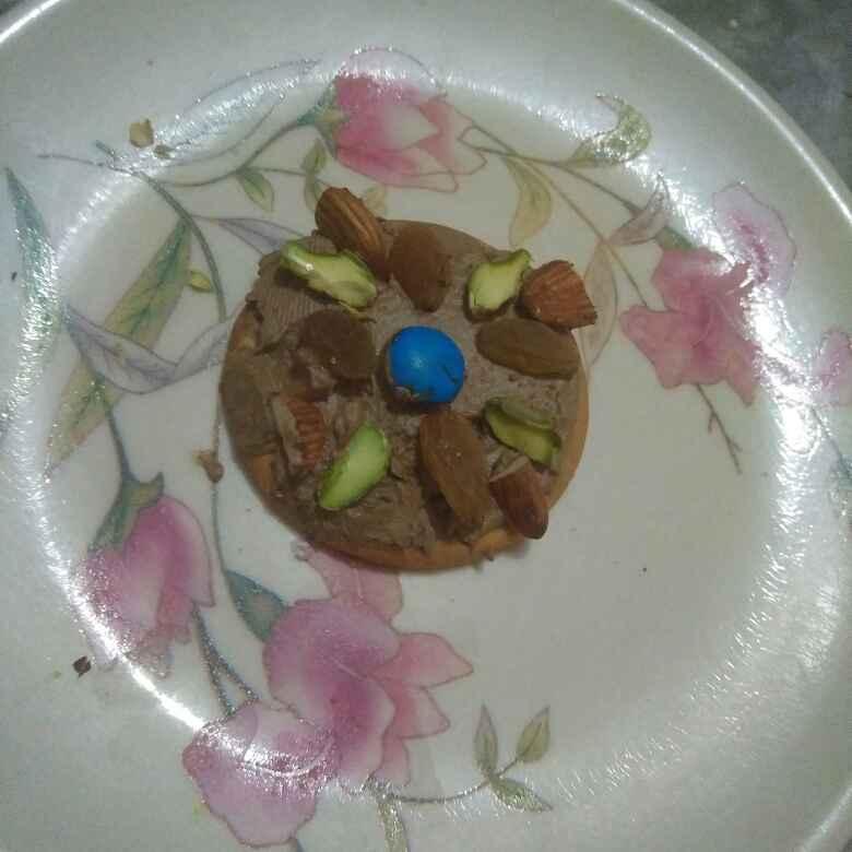 Photo of Dryfruit open cream sandwich by Aachal Jadeja at BetterButter