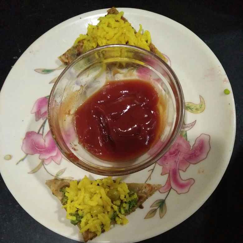Photo of Open pulao paratha sandwich by Aachal Jadeja at BetterButter