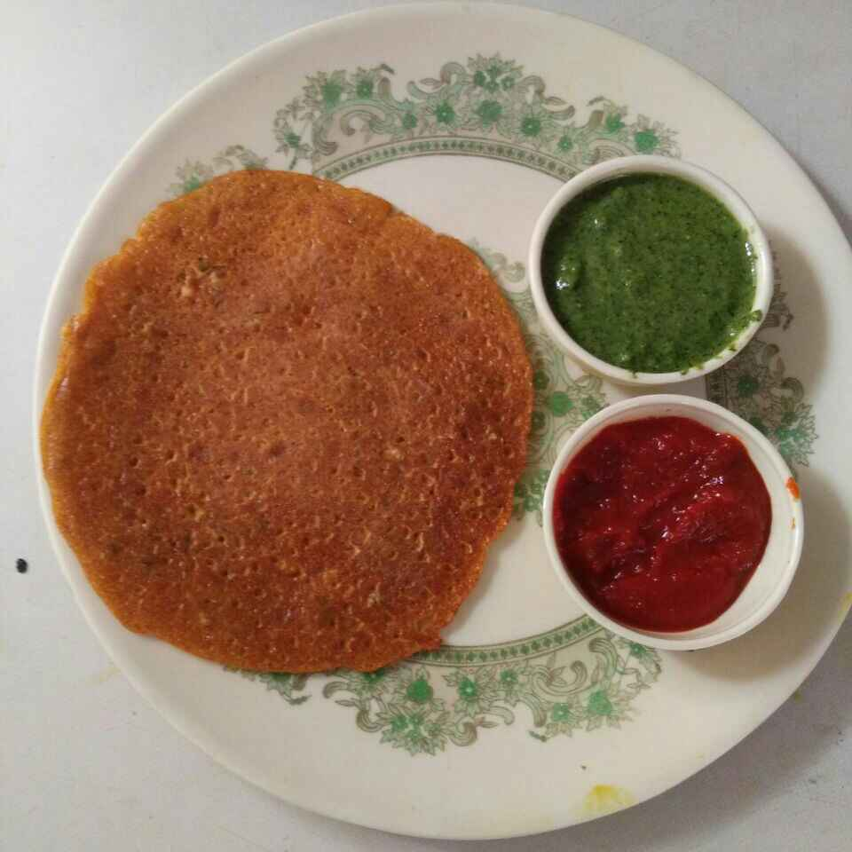 How to make Besan chilla with gingr chilly flavour