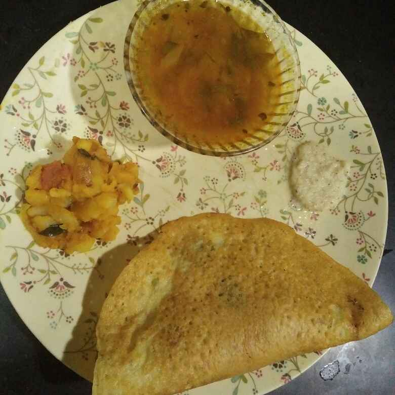 How to make Moong daal dosa