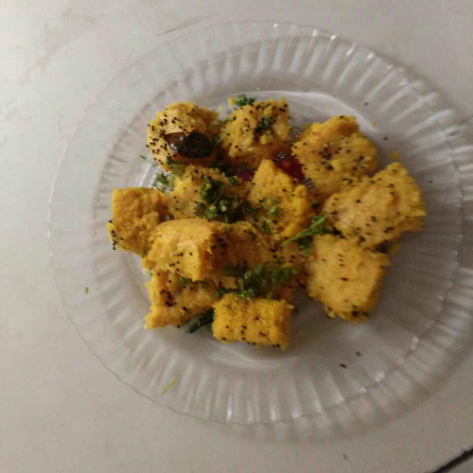 Photo of Moong daal dhokla by Aachal Jadeja at BetterButter