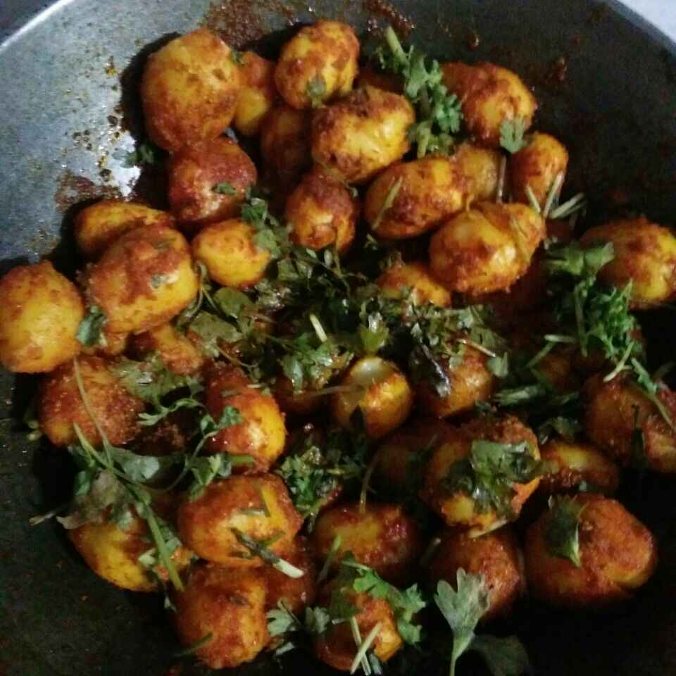 How to make Masala potato in punjabi style