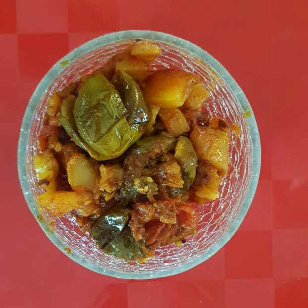 Photo of Brinjle potato sabji by Aachal Jadeja at BetterButter