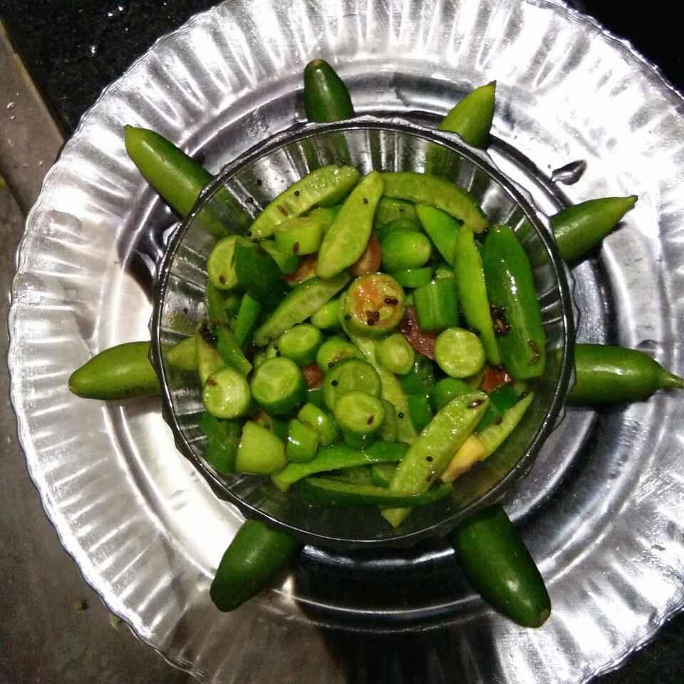 Photo of Tindora salad by Aachal Jadeja at BetterButter