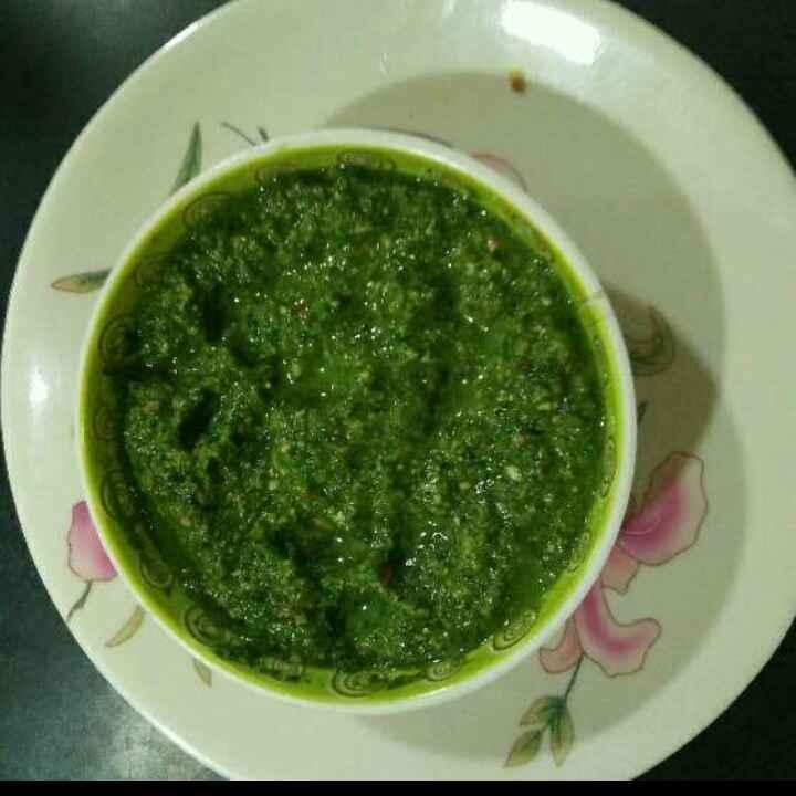 Photo of Green chutny by Aachal Jadeja at BetterButter
