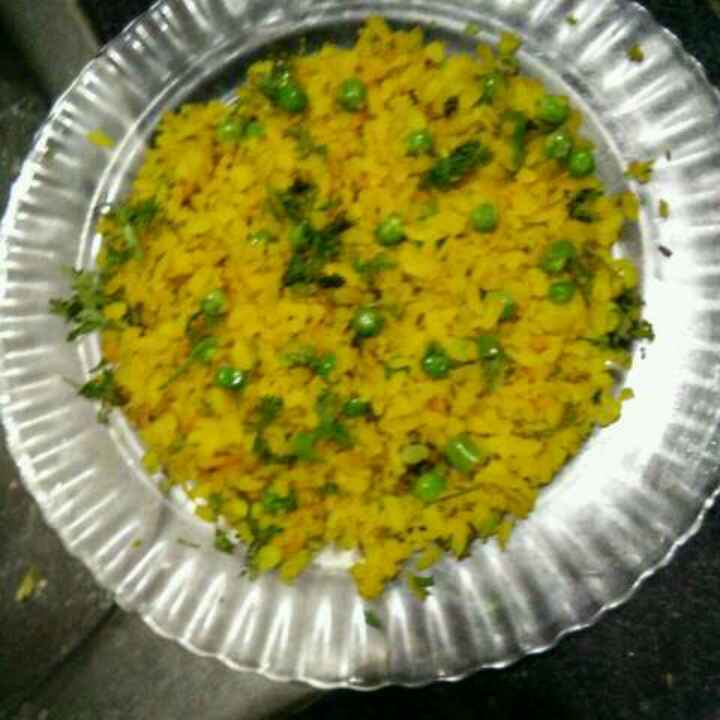 Photo of Peas poha by Aachal Jadeja at BetterButter