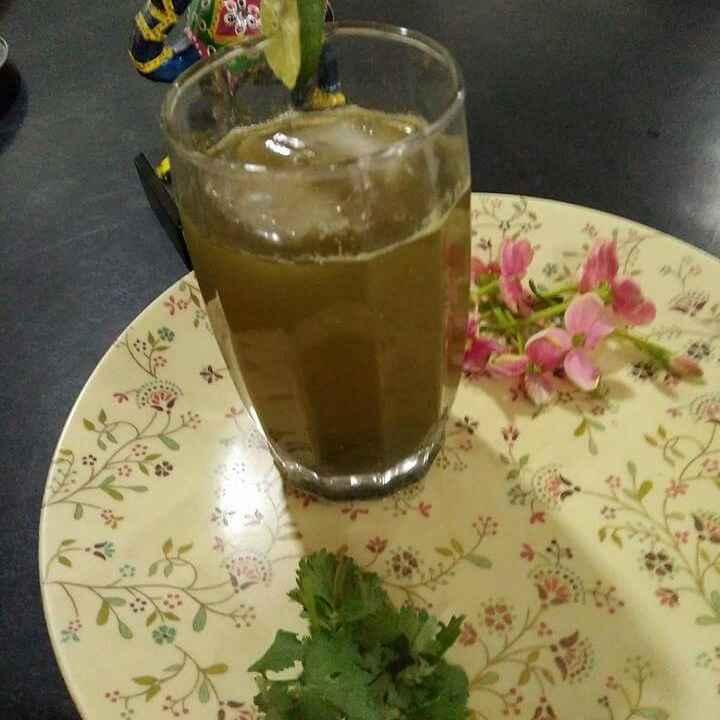 Photo of Pudina lemon drink by Aachal Jadeja at BetterButter