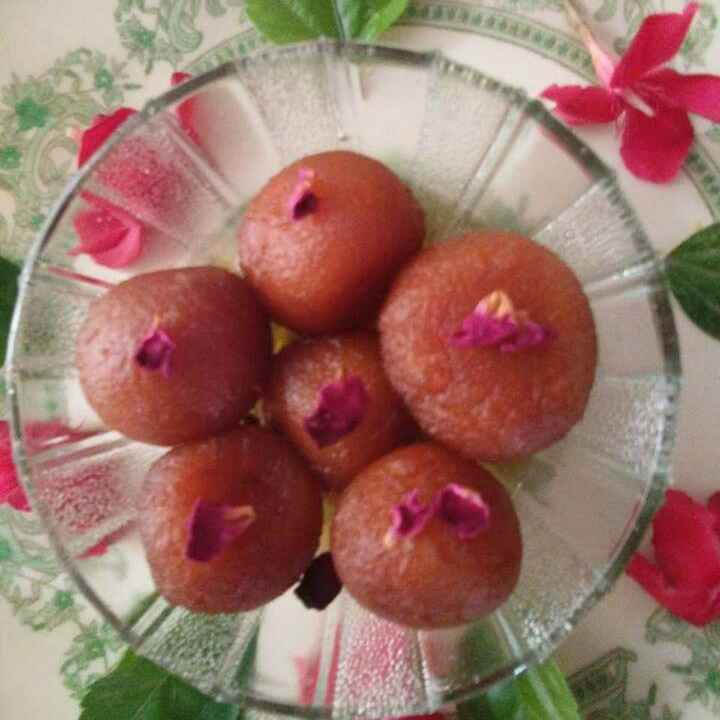 Photo of Rosy gulabjamun by Aachal Jadeja at BetterButter
