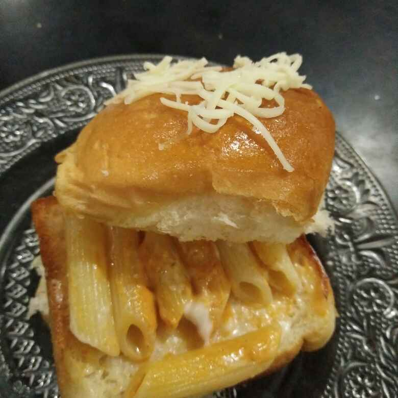 Photo of Pavbhaji pasta by Aachal Jadeja at BetterButter