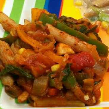 Photo of Vegetable masala pasta by Aachal Jadeja at BetterButter