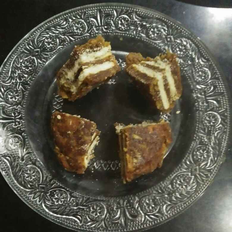 Photo of Date biscuit sandwich by Aachal Jadeja at BetterButter