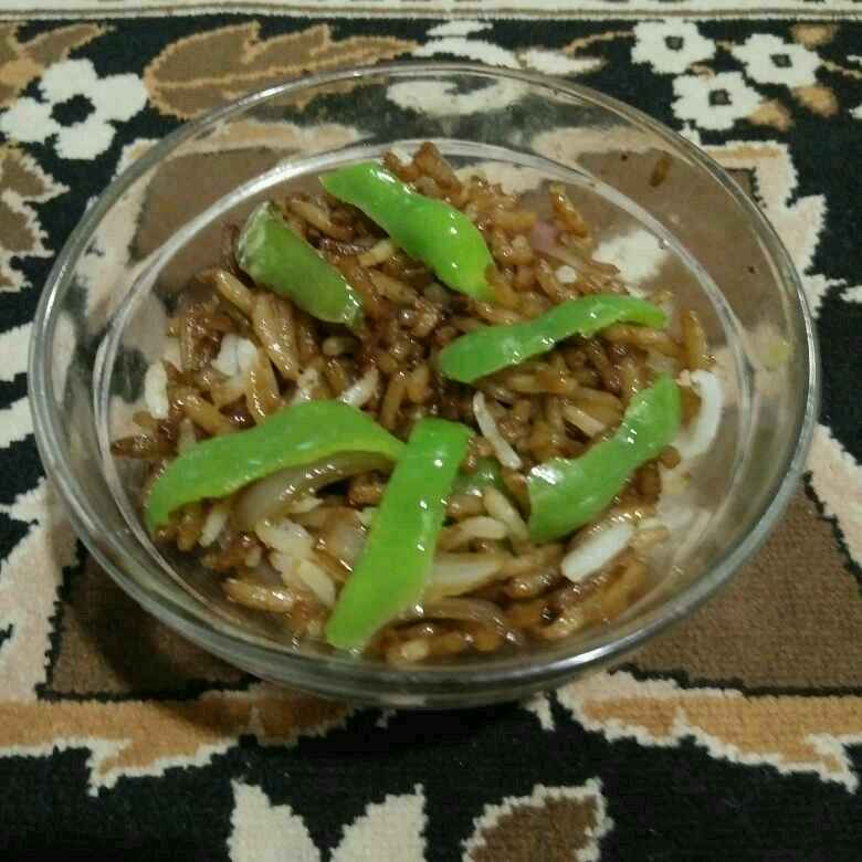 Photo of Capsicum fried rice by Aachal Jadeja at BetterButter