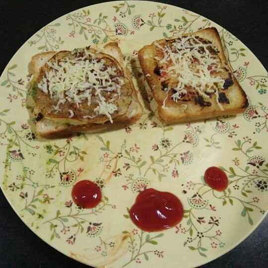 Photo of Open semolina toast by Aachal Jadeja at BetterButter