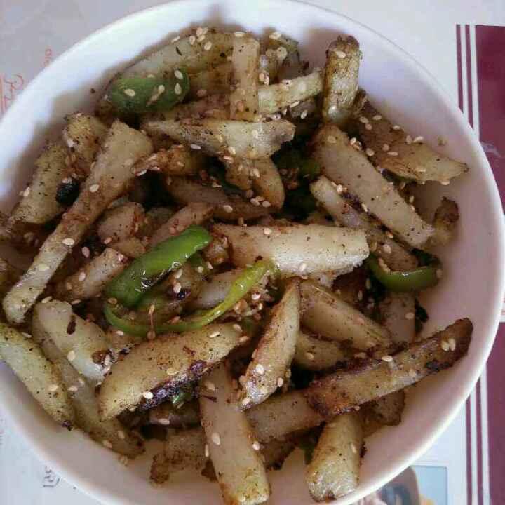 Photo of Sesame potato masala by Aachal Jadeja at BetterButter