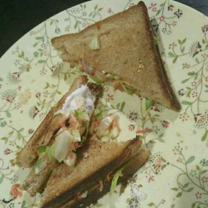Photo of Brown bread mayyonise sandwich by Aachal Jadeja at BetterButter