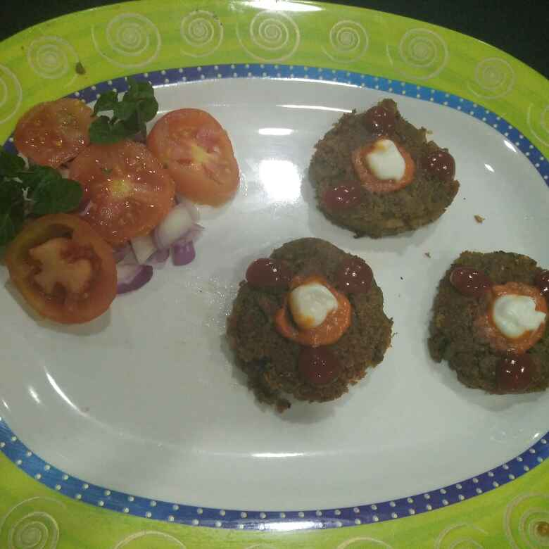 Photo of Mix beans healthy kabab by Aachal Jadeja at BetterButter