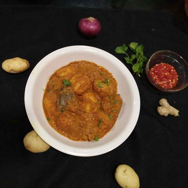 How to make Punjabi dum aloo