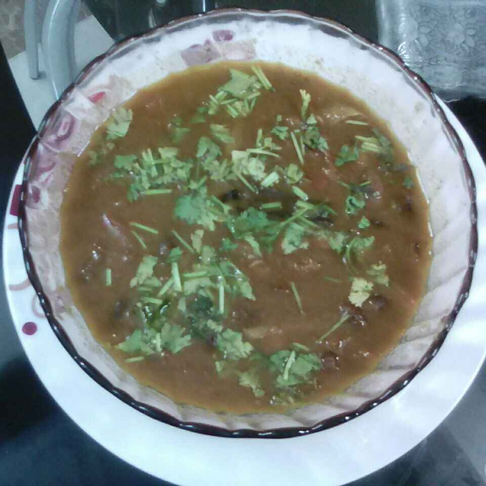 How to make Rajma... Kidney beans in thick gravy.