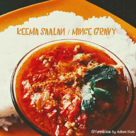 How to make Keema Saalan or Keema Gravy