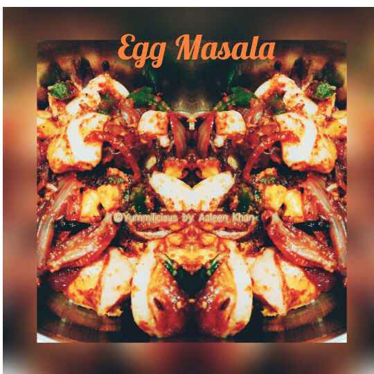 How to make Egg Masala Dry