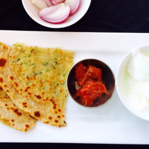 Photo of Mooli (white raddish) ka paratha by Aameena Ahmed at BetterButter