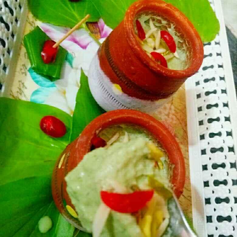 How to make Shahi pan bahar matka kulfi(vrat ke liye khas)