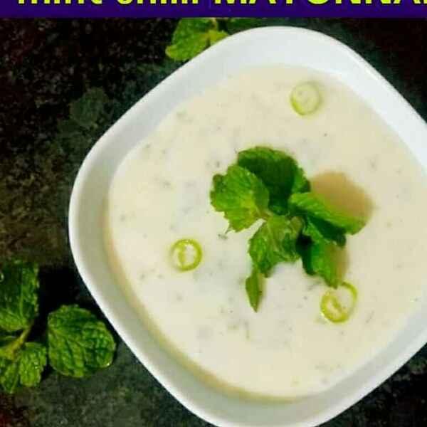 How to make Pudina chilly mayonnaise(vrat ke liye khas)
