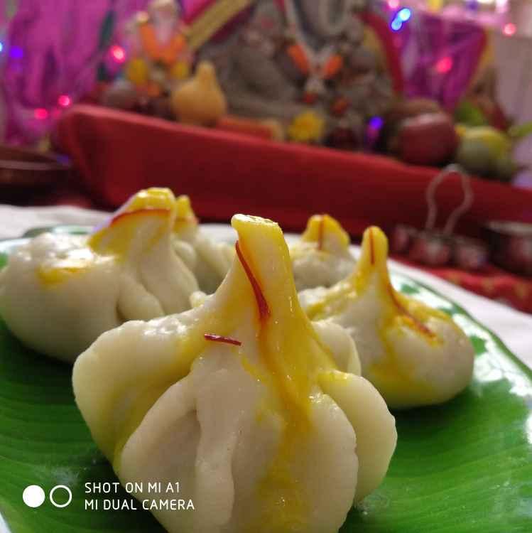 Photo of Kesri ukadiche modak by yamini Jain at BetterButter