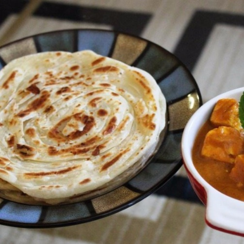How to make Malabari Parotta (Without egg)