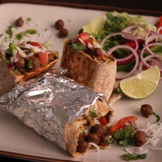 Photo of Pindi Chana Burrito by Aarti Sharma at BetterButter