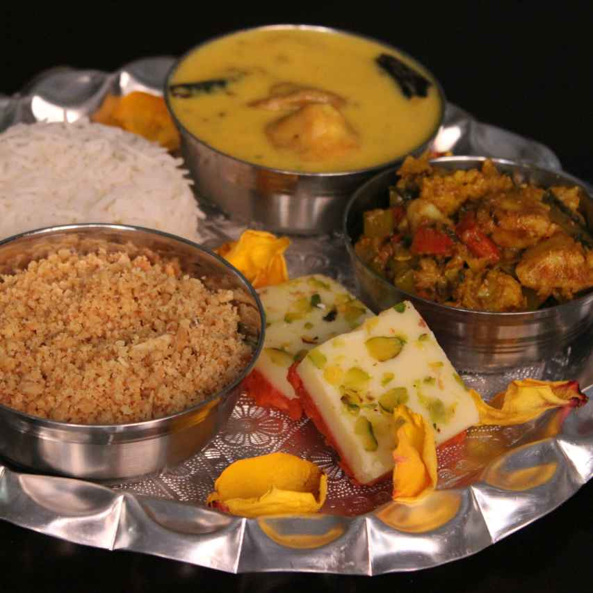 Photo of Annakoot Thali for Govardhan Puja by Aarti Sharma at BetterButter