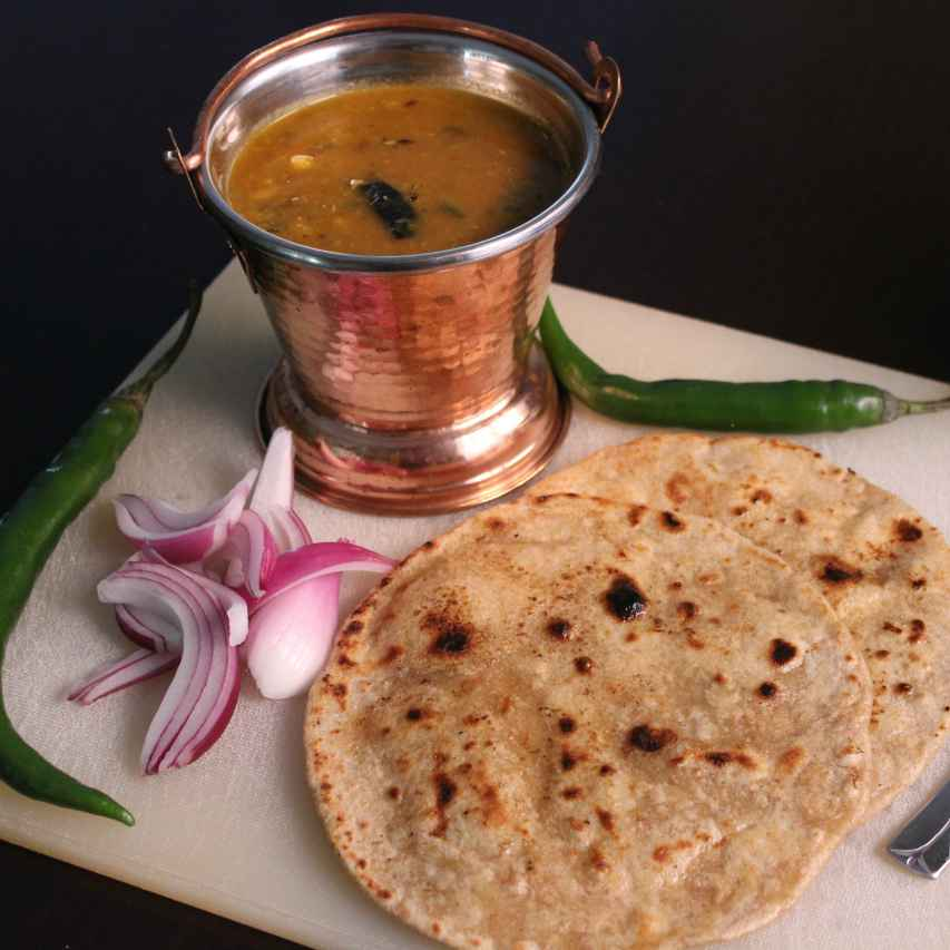 Photo of Jowar ki Roti with Panchmel Dal by Aarti Sharma at BetterButter