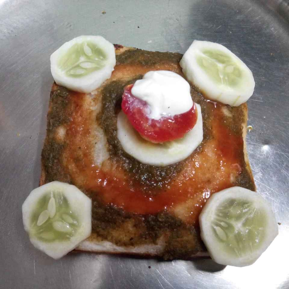 How to make सँडविच