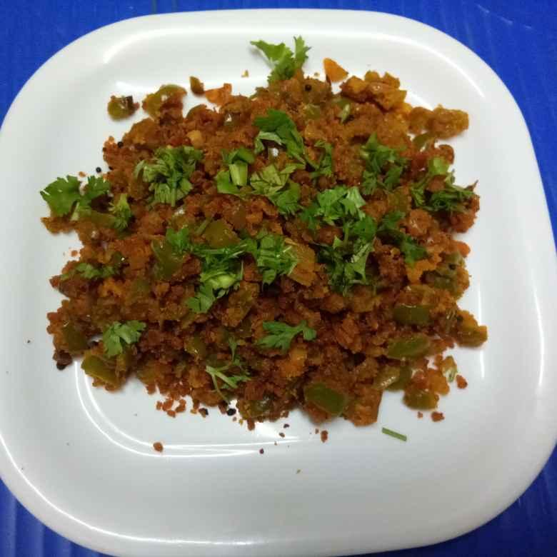 Photo of Simala mirachichi besan Pithanchi bhaji by Arya Paradkar at BetterButter
