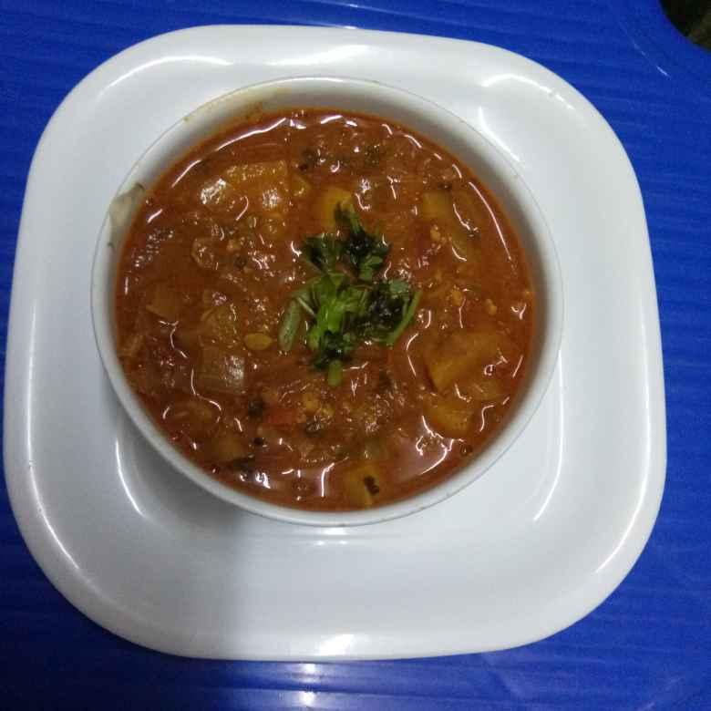 Photo of Kanda batata tomato rassa bhaji by Arya Paradkar at BetterButter