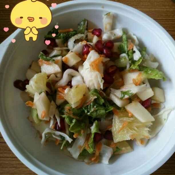 Photo of Apple, sweet lime & Lettuce salad by aashisha Madani at BetterButter