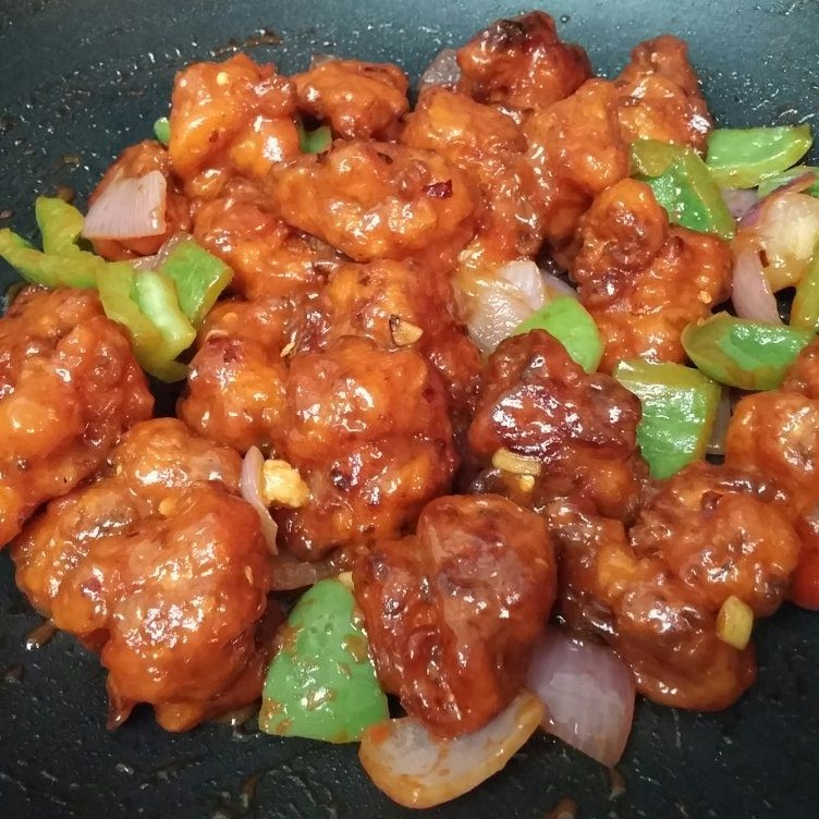 Photo of Dry Chilli Chicken by Aayushi Manish at BetterButter