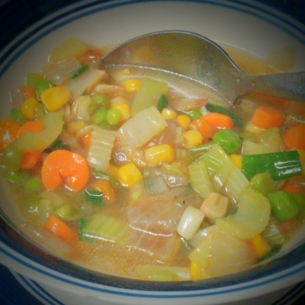How to make Mixed Vegetables Soup